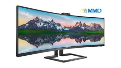 Photo of Philips 439P9H – 43-Zoll SuperWide Curved-Monitor vorgestellt