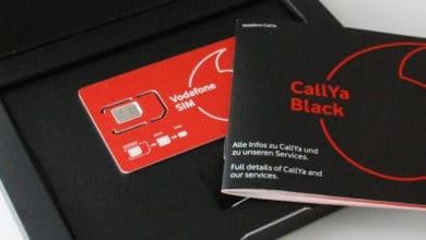 Photo of Vodafone Halves Holder of SIM Cards