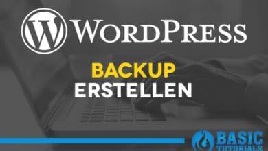 Bild von Backup: Sichern & Wiederherstellen einer WordPress-Seite