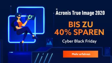 Photo of Acronis Cyber Black Friday Angebote mit bis zu 40% Rabatt
