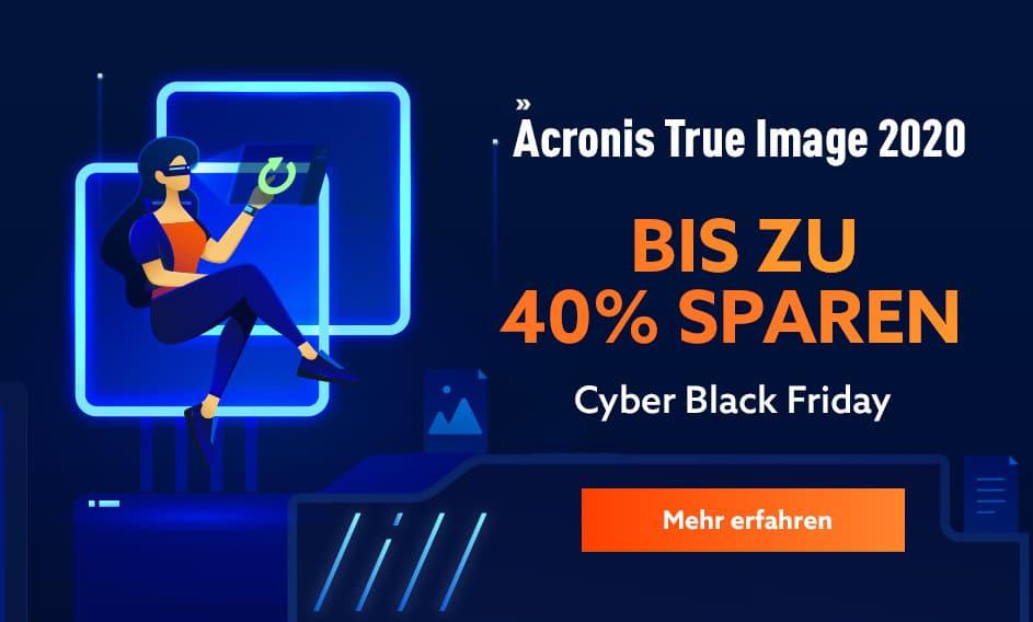 Acronis Black Friday