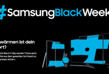 Photo of Samsung Black Weeks: Technik-Highlights auch zum Black Friday® und Cyber Monday