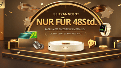 Photo of Black Friday: 48 Stunden Blitzangebote bei Gearbest