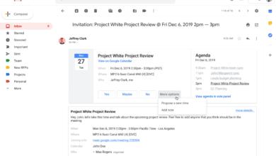 Bild von Google Mail: Ab sofort alternative Terminvorschläge zu Kalendereinladungen möglich