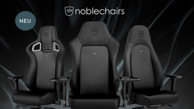 Bild von noblechairs Black Edition: Premium-Version des EPIC, ICON und HERO