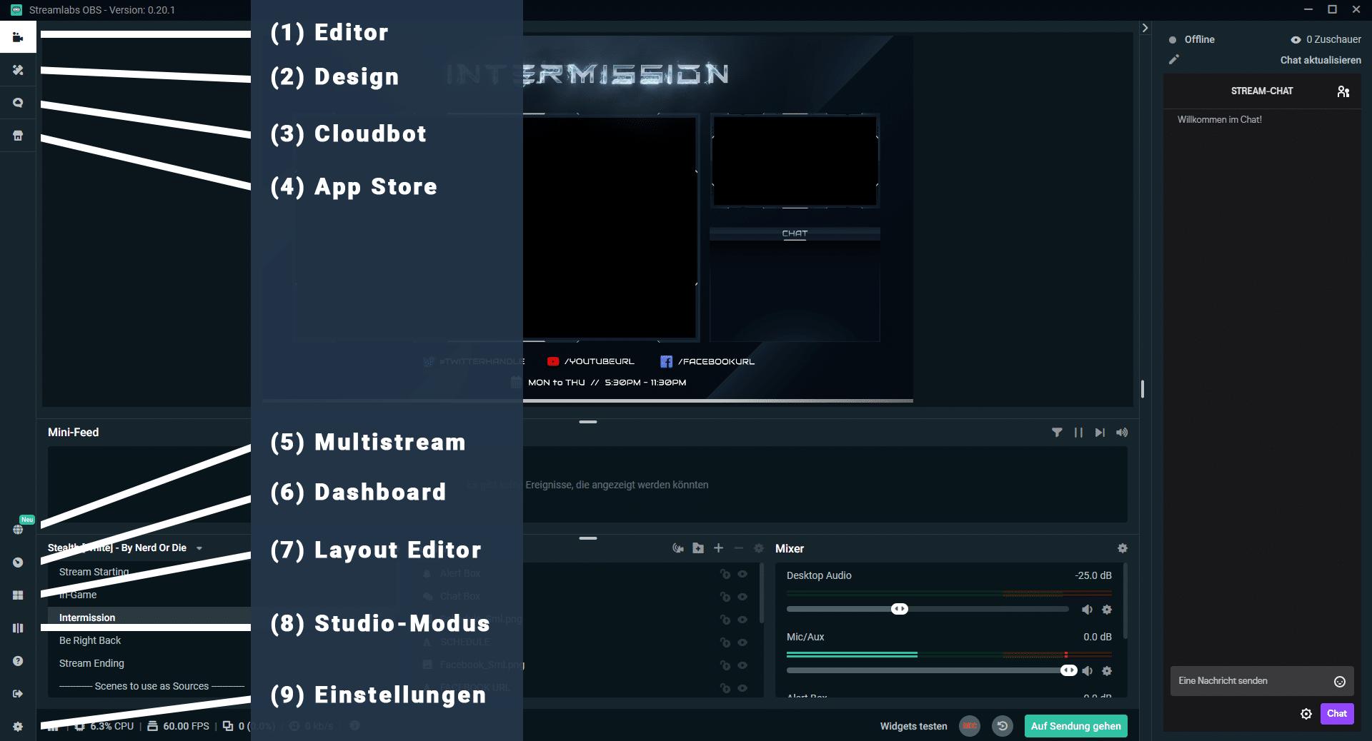Obs Stream Starten