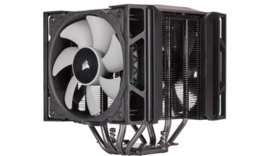 Photo of Corsair A500: Large CPU cooler with high compatibility for RAM bars