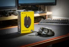 Photo of The Corsair SCIMITAR RGB Elite MMO/MOBA gaming mouse in review