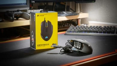 Photo of Die Corsair SCIMITAR RGB Elite MMO/MOBA Gaming Maus im Test