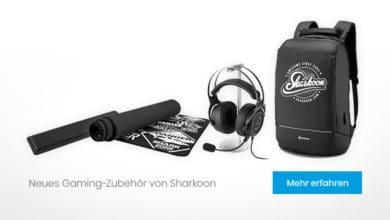Bild von Sharkoon präsentiert neues Zubehör für Gamer