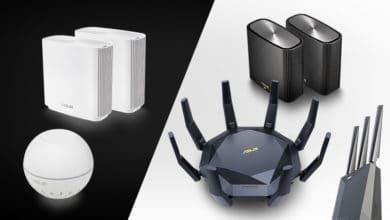 Bild von Mesh-Pakete: Neue WLAN-Produkte von ASUS zur CES 2020