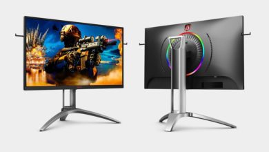 Photo of AOC: New monitor with 240 Hz and pivot function coming