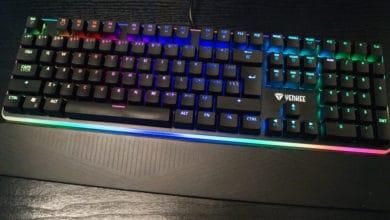 Bild von Yenkee YKB-3400 Panzer – Eine Rainbow RGB Gaming-Tastatur fast ohne offene Wünsche