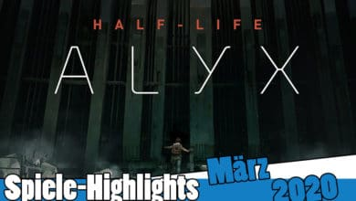 Bild von Spiele-Highlights im März 2020
