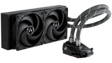 Photo of Arctic Liquid Freezer II 240 – Powerful AiO water cooling focuses on the essential
