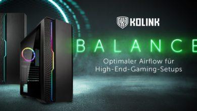 Bild von Kolink Balance ARGB: Midi-Tower mit tollem Preis-Leistungs-Verhältnis jetzt erhältlich
