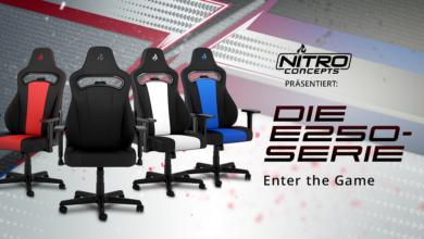 Bild von Nitro Concepts E250: Neuer Gaming-Stuhl im Handel erhältlich