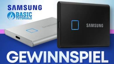 Photo of Ostergewinnspiel: Samsung Portable SSD T7 Touch