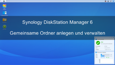 Bild von Synology DiskStation Manager 6 – Gemeinsame Ordner anlegen und verwalten
