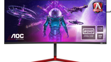 Photo of Riesiger 35″-Gaming-Monitor ohne Kompromisse? – AOC AGON AG353UCG
