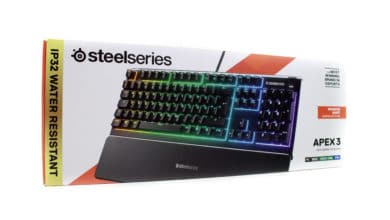 Photo of SteelSeries Apex 3 – water-resistant gaming keyboard under test