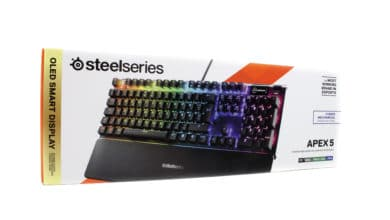 Photo of SteelSeries Apex 5 – die Rubberdome-Gaming-Tastatur, die mechanisch sein will
