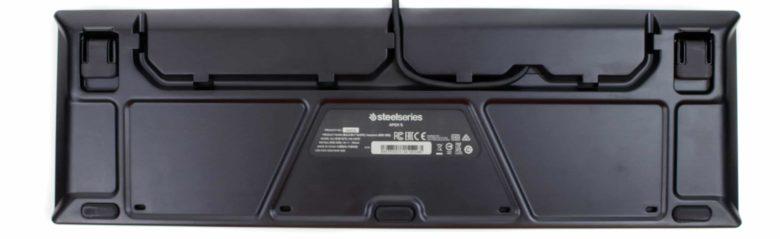 SteelSeries Apex 5 rear panel