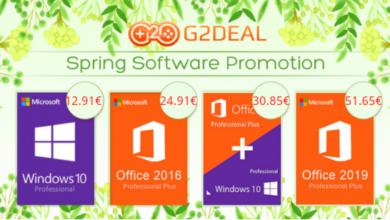 Photo of G2deal.com: Windows 10 ab 12 € & Office 2019 ab 19 € [Werbung]