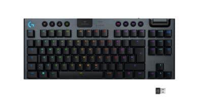 Bild von Logitech G präsentiert die mechanische Gaming-Tastatur Logitech G915 TKL