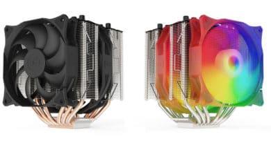 Bild von SilentiumPC Grandis 3 Twin-Tower-Kühler mit ARGB-Beleuchtung