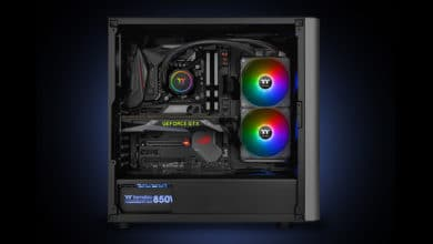Photo of Thermaltake TH120 and TH240 ARGB Sync compact water cooling systems announced