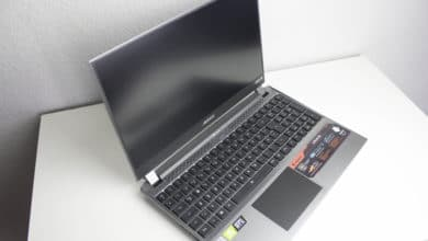 Photo of Gigabyte Aorus 15G Gaming-Notebook im Test