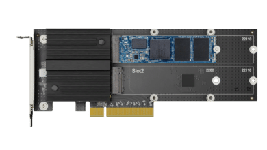 Photo of Synology presents NAS SSDs with SATA and NVMe