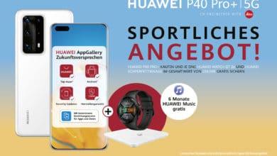 Bild von Huawei startet Sommerkampagne: Gratis Smartwatch, Körperfettwaage & Musik-Streaming