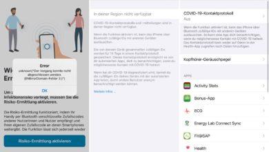 Photo of Corona-Warn-App nicht kompatibel mit iOS 14