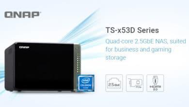 Bild von Neue NAS-Serie vorgestellt: QNAP TS-x53D