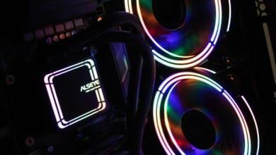 Bild von Inter-Tech Alseye H240 und H360 – günstige RGB-Wasserkühlungen im Test