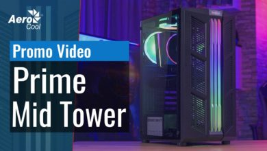 Photo of AeroCool Prime: New midi tower with lighting and ventilation
