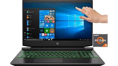 Bild von HP Pavilion – 15-ec1234ng Notebook (15,6 Zoll, Ryzen 5 4600 , GTX 1650, 512 GB SSD,16 GB RAM, 144 Hz) nur 712,32 € (-21%)*