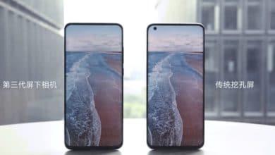Bild von Xiaomi: 2021 kommen Smartphones mit Kamera unter dem Display