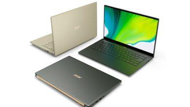 Bild von Acer Swift 3 & Swift 5 mit neuen Prozessoren