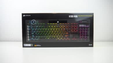 Bild von Corsair K100 RGB: Das neue Nonplusultra unter den Gaming-Tastaturen