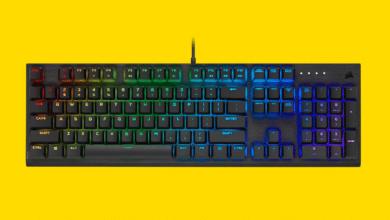 Bild von Corsair K60 RGB Pro: Die erste Tastatur mit Viola-Switches