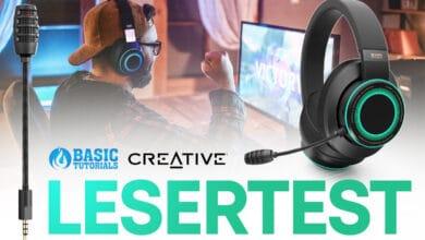 Bild von Lesertest: Creative SXFI GAMER Gaming-Headset