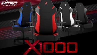 Bild von Neue Gaming-Stühle: Nitro Concepts X1000-Serie