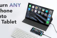 Bild von Kickstarter-Kampagne: Das PhonePad macht jedes Smartphone zu einem Tablet