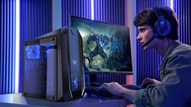 Bild von Acer Gaming-PCs mit GeForce RTX 30 Grafikkarten