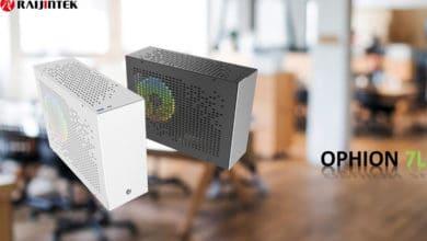 Bild von Raijintek Ophion 7L: Neues Mini-ITX-Gehäuse mit nur 7 Litern Volumen
