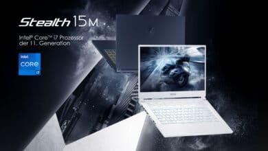 Bild von MSI Stealth 15M – Erster Gaming-Laptop einer neuen Generation