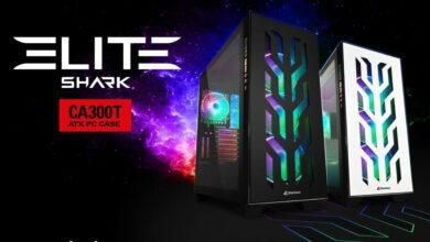 Bild von Sharkoon Elite Shark CA300T: Geräumiger E-ATX Tower ab sofort verfügbar